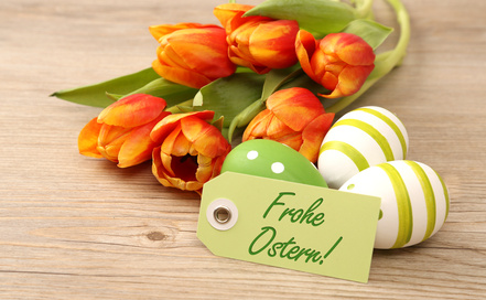 Ostern feiern im Landgasthof Adler in Glöttweng
