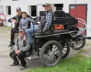 Wie jedes Jahr besuchten uns auch heuer eine Gruppe Wanderreiter aus Holzheim und Aislingen