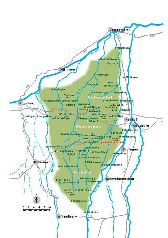 Landkreis Augsburg Karte.Naturpark Westliche Walder Archive Landgasthof