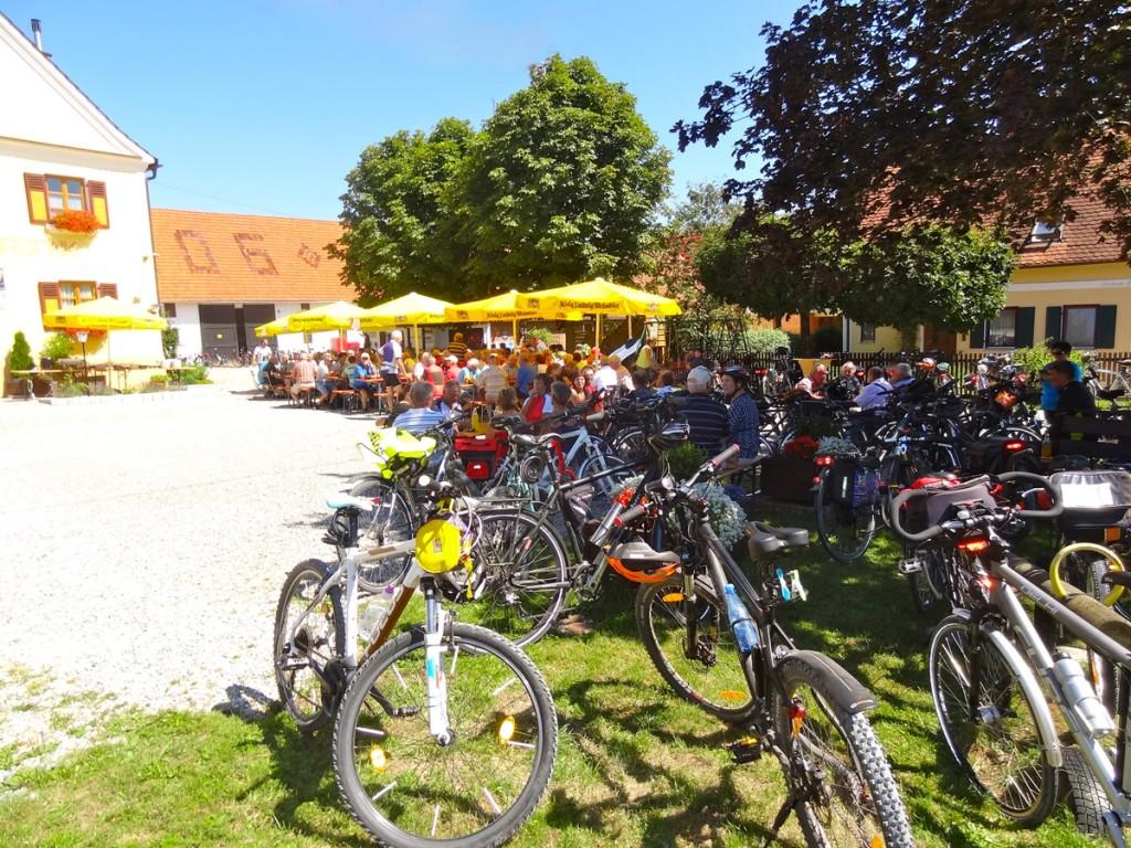 Mit dem Landrat Hubert Hafner machten sich über 170 Radfahrer auf zur diesjährigen Landratstour. Ziel in diesem Jahr: der schöne Holzwinkel mit seinen schattigen und gut ausgebauten Radwegen.